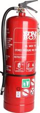 water hcfc-123 fire extinguisher