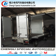 high quality small mini carrier refrigeration container box refrigerator trucks frige van truck for sale