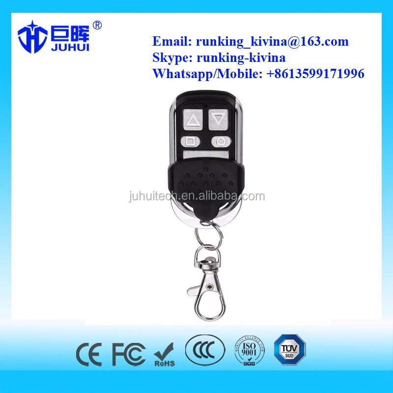 4-Channel cloning garage duplicator transmitter remote control door (face to face copy) 433 mhz