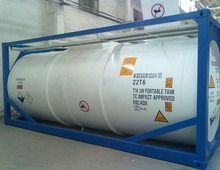 HYDROFLUORIC ACIDS ISO TANK CONTAINER T14 DOT 20 FT