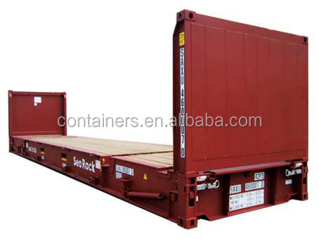 BV certified 20ft 40ft flat rack container for sale