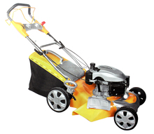 20 inch 4 in 1 gasoline lawn mower and 5.0HP lawn mower and handpush lawn mower