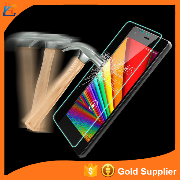 Half mirror 4h hardness tempered glass protective film for infinix hot 4 zero 2 zero 3 x552 screen protector