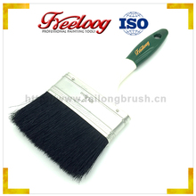 "Economic and durable cover 1-1/2""Solid Plastic handle oil paint brush"