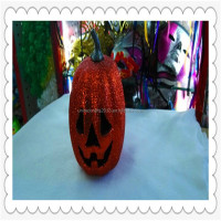 Lighted Halloween hard foam pumpkin 2015