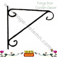 Ornamental Plant Hanging Bracket for Garden