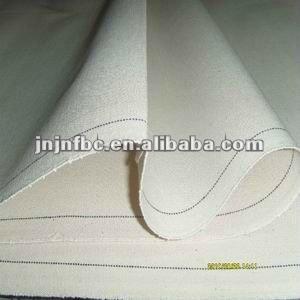 grey white cotton canvas fabric for tent