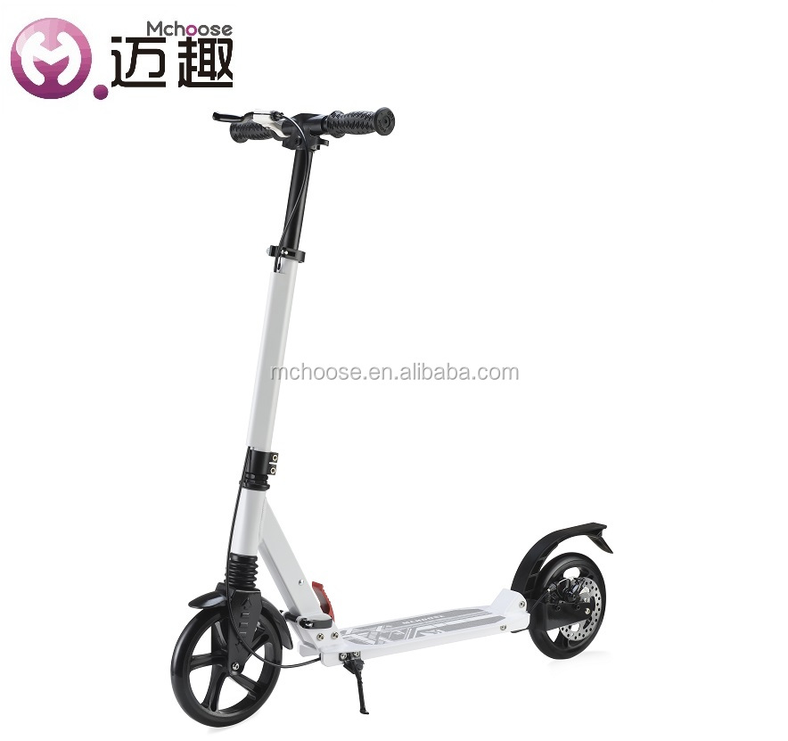 200mm Folding Foot Kick Adult Scooter with Disc Brake
