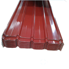 The lowest price colored corrugated steel roof plate With Discount