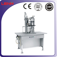 Filling Capping Packing 3 in 1 Aerosol spray paint Filling Sealing Machine