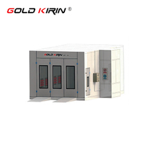 Competitive price industrial car spray paint booth oven for sale