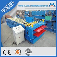 New Design Roofing Sheet Rollforming MachineryHC23/16 Roof & Wall Panel Double Deck Cold Roll Forming Machine China Manufacturer