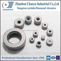 Customized tungsten carbide bushings for metal drawing,cemented carbide bushings.