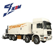 Road maintenance truck Slurry seal micro surfacing paver machine slurry seal