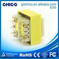EI35 low frequency transformer pole mounted dry type transformer