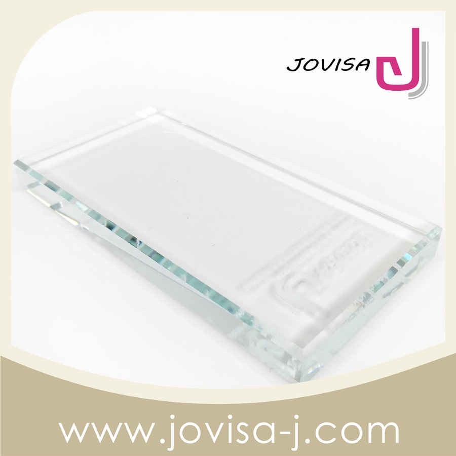 JOVISA Crystal Square Adhesive Plate Glue Plate for eyelash extension