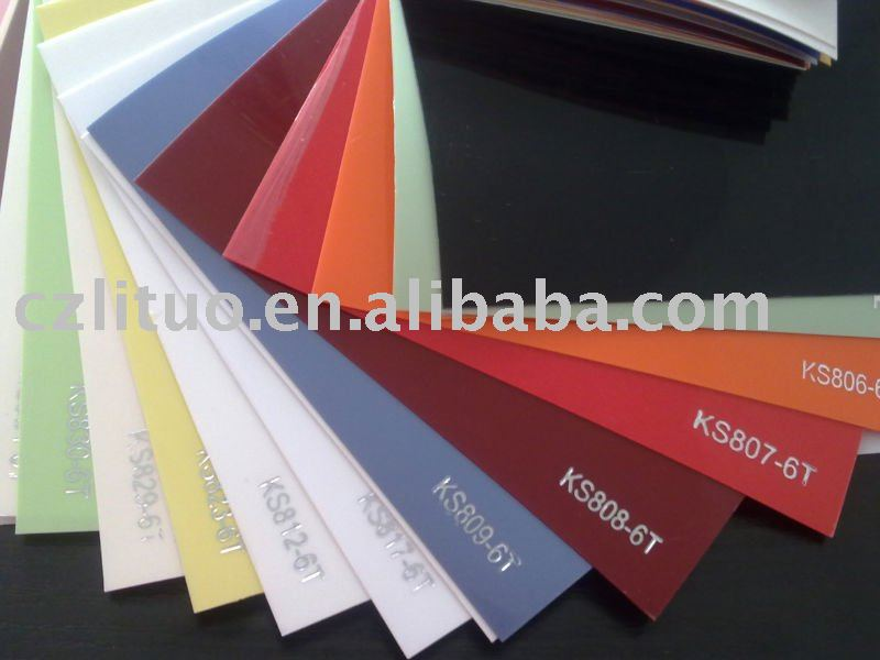 high gloss decorative pvc film for MDF doors