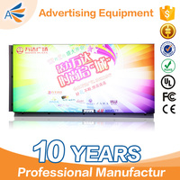 ADE prefossional aluminum side snap frame led advertising equipment light box for advertisements