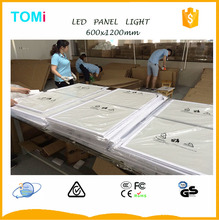 Hot White Frame 600x1200mm LED Panel light with TUV,GS,CE,ROSH APPROVED China led panel light aluminum frame