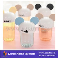 custom PP food grade plastic mini cups with cover