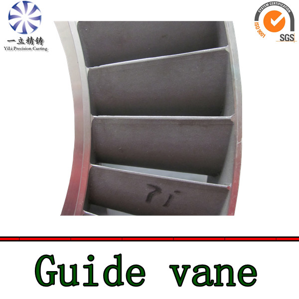 nickel base alloy nozzle guide vanes for aircraft turbojet engine