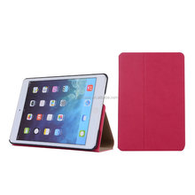 Smart cover for ipad mini leather case,for ipad mini3 case made by China Manufacturer
