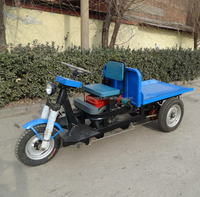 2017 low price heavy loading brick motorcycle truck 3-wheel tricycle
