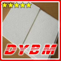 Square / Tegular Edge black mineral wool false ceiling boards