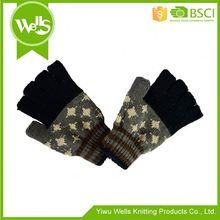 Best seller attractive style gloves with pom poms on sale