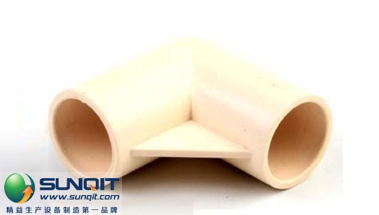 Plastic joints for pipe rack joint system