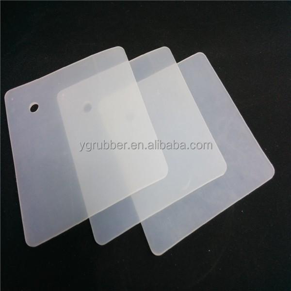 Caucho de silicona resistente a altas temperaturas