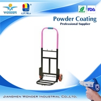 ral/pantone color epoxy polyester folded luggage barrow powder coating