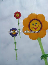 beautiful sunny flower inflatable kite