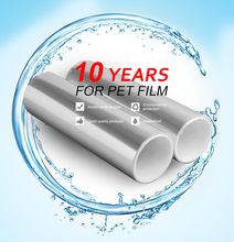 High Transparent silicone coated pet release liner for carrier film