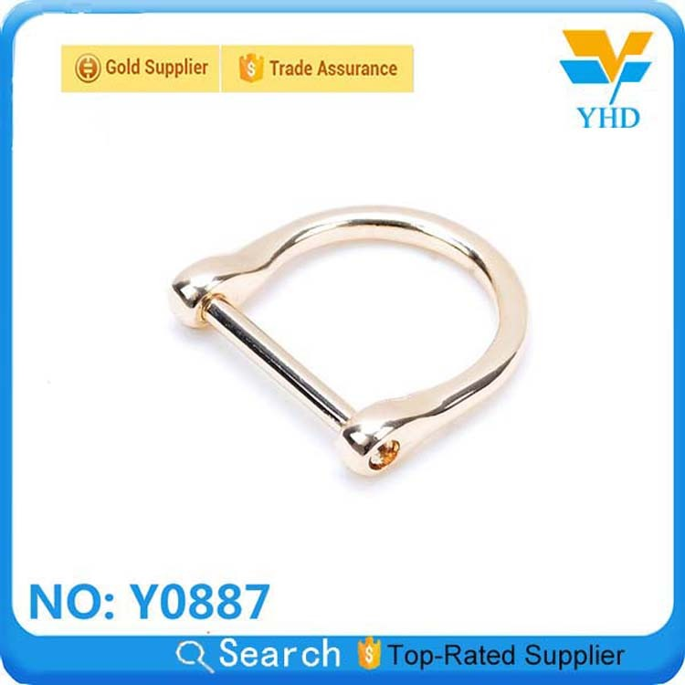 YHD the cheapest wholesale 2013 new design D/O ring for key,leather bag/luggage/case/backpack accessory