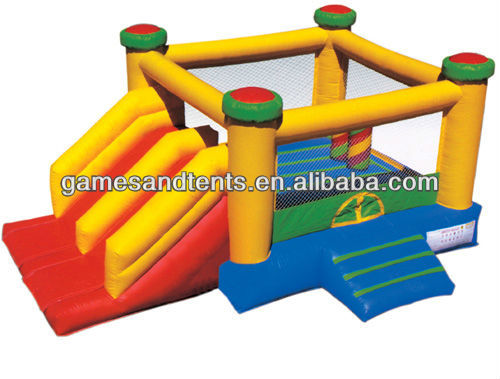 HUGE inflatable bouncers,inflatable combo slide A3009