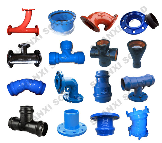 Manufacture china ductile cast iron pipe fittings