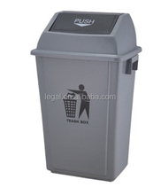 LD-20X 20L Eco-friendly Standing Waste Bin Recycle Push Lid Container
