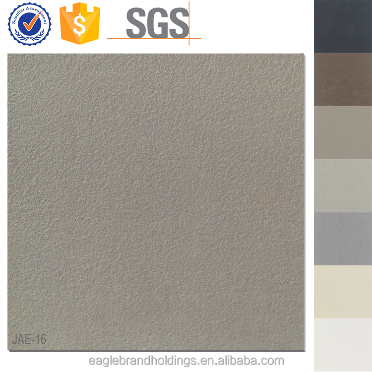 Foshan unglazed tile, rough surface vitrified tile ceramic, olive non-slip porcelain floor tiles