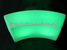 Rechargeable LED Chair /Plastic LED Bench LG-1240