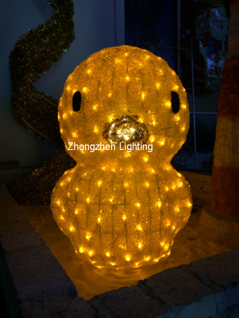 LED duck motif light for Christmas decoration