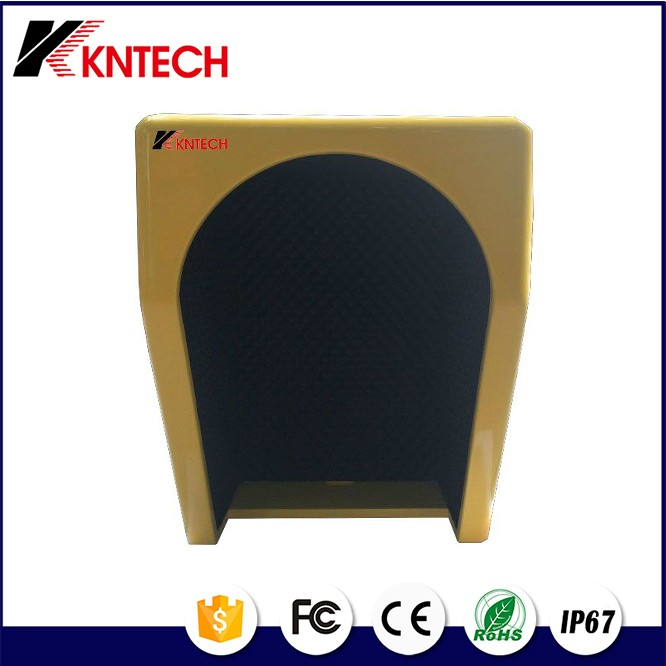 2016 Customized Acoustic Telephone Hood Public Phone Booth Koontech Bus Sation Telephone Booth
