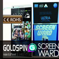 Goldspin 95% Transparency Clear Screen Protectors For HTC Desire E8