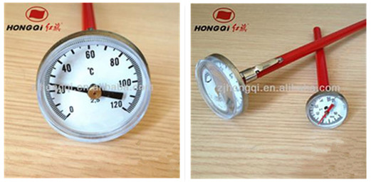 non-contact thermometer thermometer with brass thermowell garden thermometer