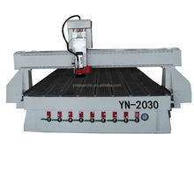 YN 2d/3d cnc router 2030 with vacuum table