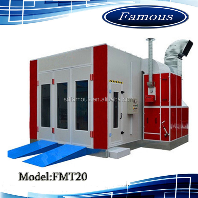 China hot selling painting booth/small spray booth/car paint cabin