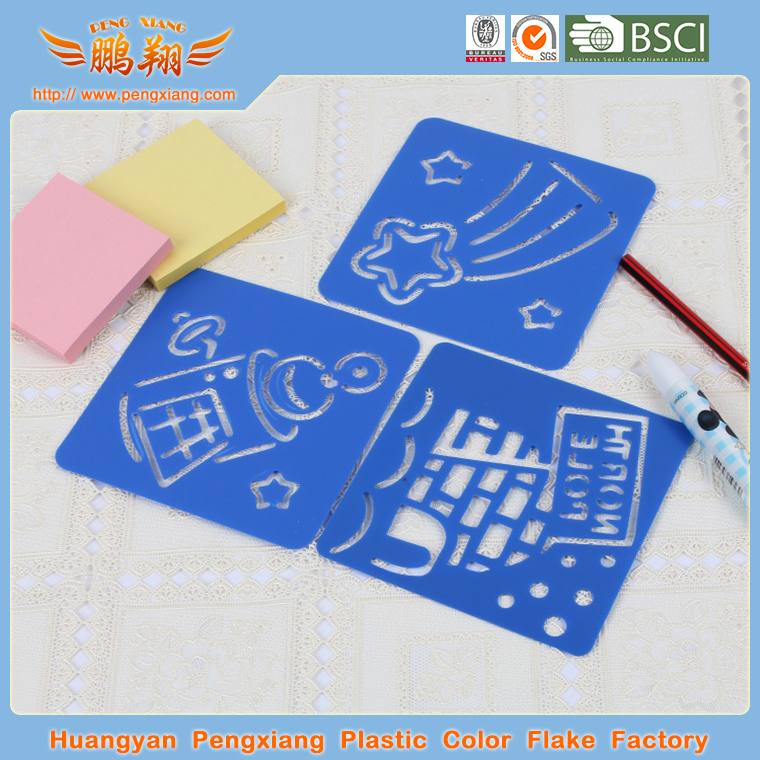 Plastic Drawing Stencil for Children DIY Painting