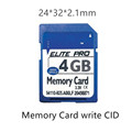 China Car navigator custom cid Memory Card 16gb c10