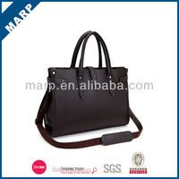 2014 design very fashionable genuine leather briefcase