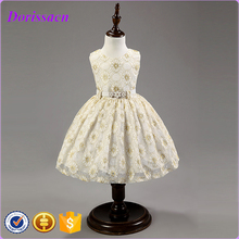 New Arrival 2016 Flower Girl Dresses Wedding Party Pageant Ball Gown Dresses For Children Fancy Dress Kids Clothing C-87